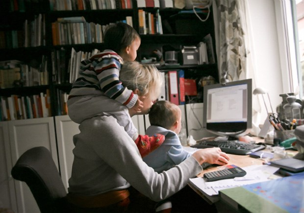 The Secret to Having It All? Work from Home