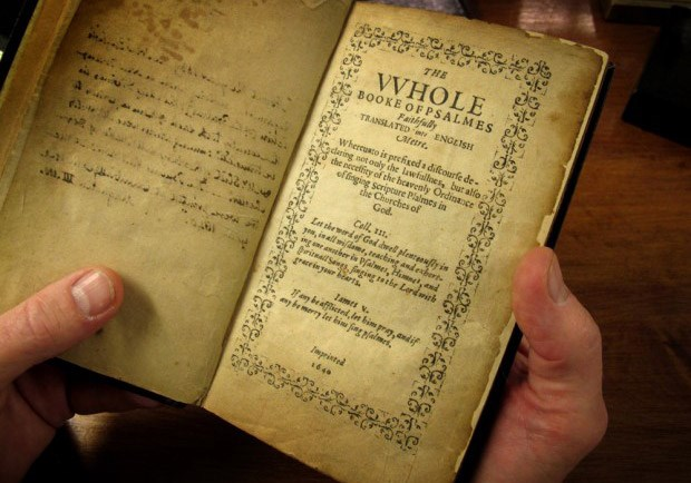 What You Need to Know About the Bay Psalm Book