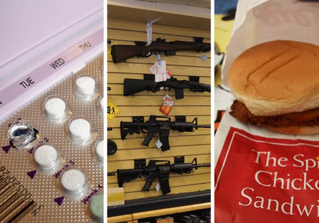 Contraceptives, Guns, Chicken: Top Newsmakers of 2012