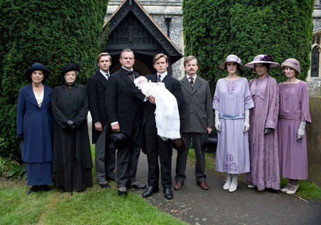 God Shows Up at Downton Abbey