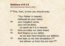Is the Lord's Prayer a Christian Prayer?