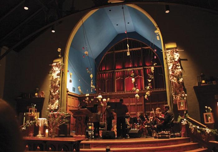 Discipling the Eyes Through Art in Worship