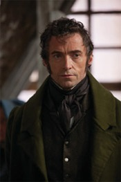 Hugh Jackman as Valjean