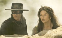 Antonio Banderas and Catherine Zeta-Jones reprise their roles