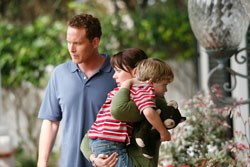 Cole Hauser as Jack, Kate Levering as Molly, Maxwell Perry Cotton as Joey