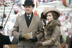 George VI and the Queen Mother (Helena Bonham Carter)