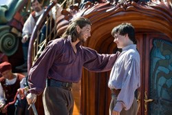 Ben Barnes as Caspian, Skandar Keynes as Edmund