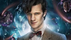 Matt Smith as the current Doctor Who