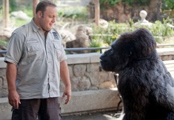 Kevin James (left) as Griffin Keyes