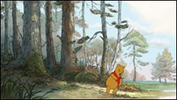 Pooh (voiced by Jim Cummings) takes another adventure