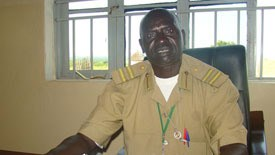 South Sudanese government inspector Alphonse Lesur says officials have found problems at Childers's orphanage.