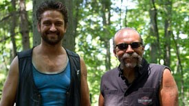 Actor Gerard Butler (left) plays Childers in Machine Gun Preacher, which opens tomorrow.