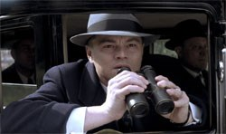 Leonardo DiCaprio as J. Edgar Hoover