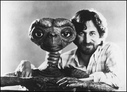 The director with his famous alien