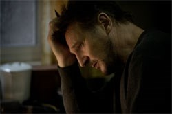 Liam Neeson as Ottway, who has some issues