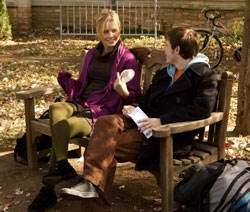 Penny (Claire Holt) and Don in a scene from the film