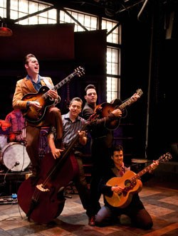 A scene from 'Million Dollar Quartet'