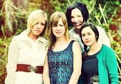 Ellie Holcomb, Sandra McCracken, Katy Bowser, and Flo Paris