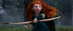 Merida (voiced by Kelly Macdonald)