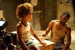 Hushpuppy and Wink (Dwight Henry)