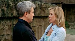 With Dermot Mulroney in 'Trade of Innocents'