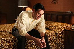 Jon Hamm as Don Draper in AMC's Mad Men