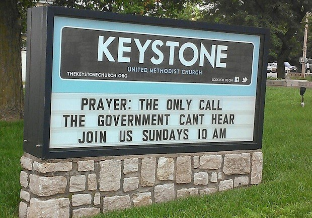 Church Signs of the Week