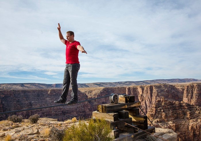 Nik Wallenda's Walk by Faith Across a Grand Canyon Tightrope