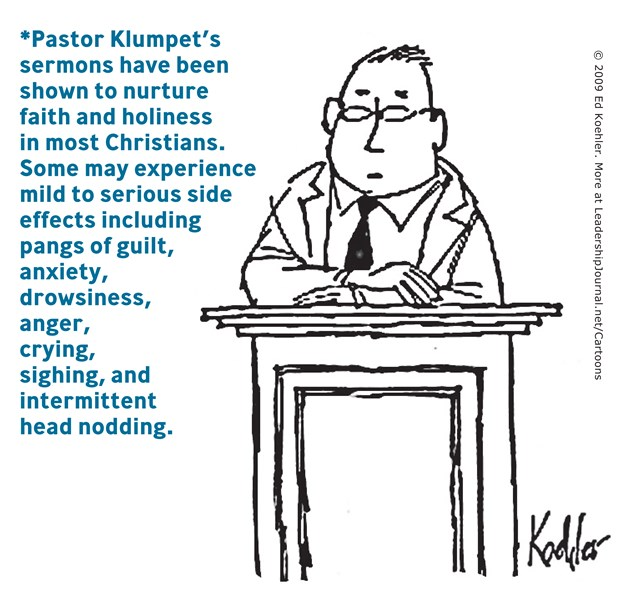 Warning: Sermons Shown to Nurture Holiness