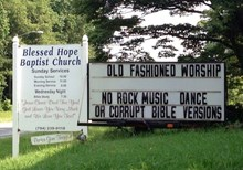 Church Signs of the Week - July 26, 2013