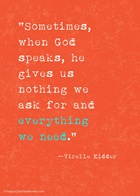 God's Talking to You