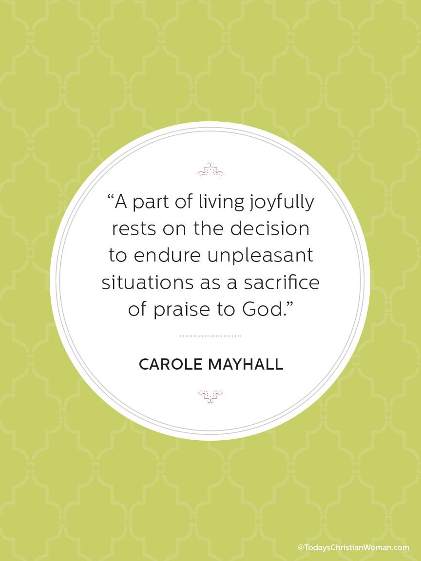 The Secret to Joy