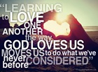 Intercede, Pray, Love