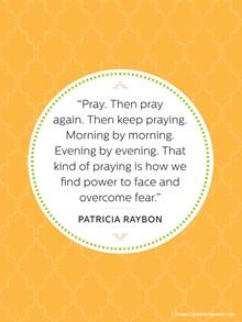 Praying Away Fear