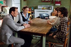 Patrick Wilson, Vera Farmiga, Lili Taylor, and Ron Livingston in The Conjuring