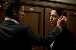 Eric Bana and Rebecca Hall in CLOSED CIRCUIT