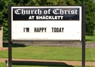 Church Signs of the Week - September 13, 2013