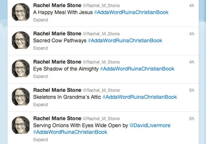 Why We Love 'Add a Word, Ruin a Christian Book'