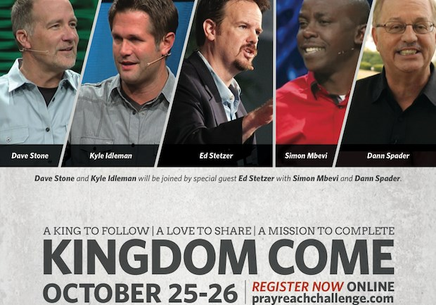 Saturday is for Seminars: Pray. Reach. Challenge. in Louisville, KY — Oct. 25-26