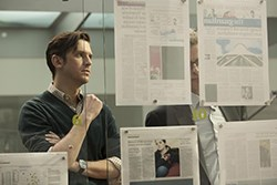 Dan Stevens in The Fifth Estate