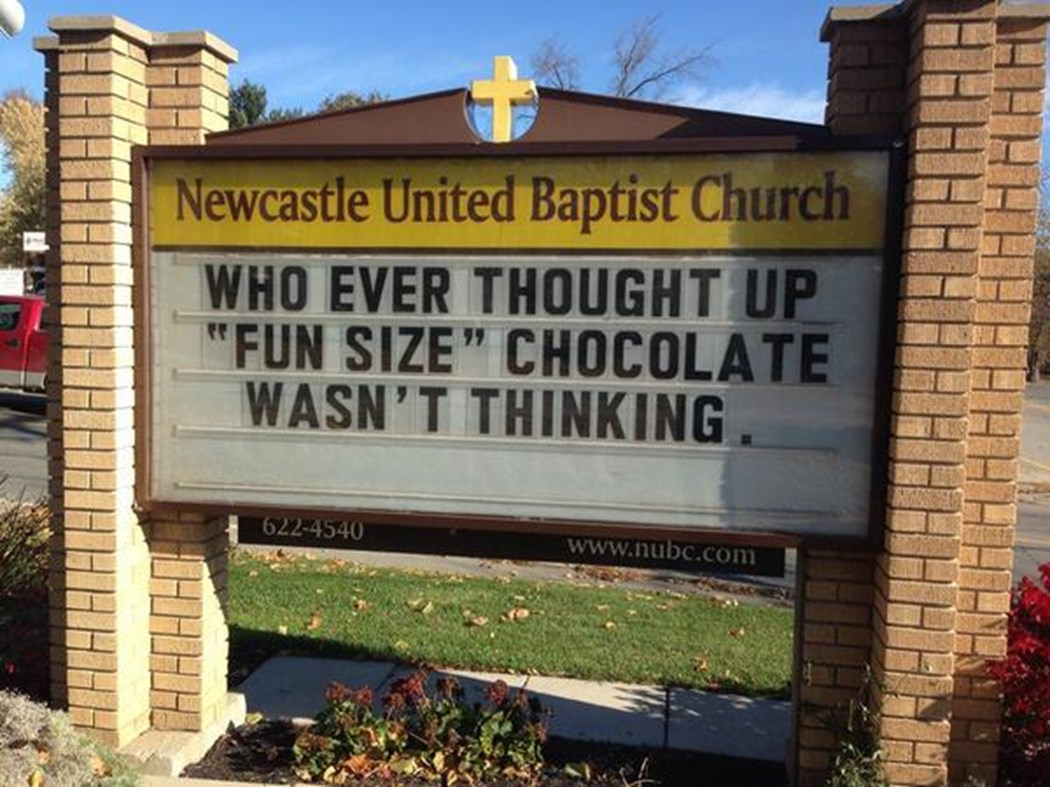 Halloween Church Signs (Updated as More Come In!) | The Exchange ...
