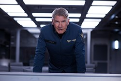 Harrison Ford in Ender's Game