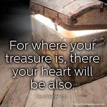 Matthew 6:21