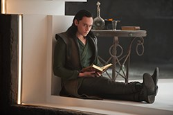 Tom Hiddleson as Loki in Thor: The Dark World