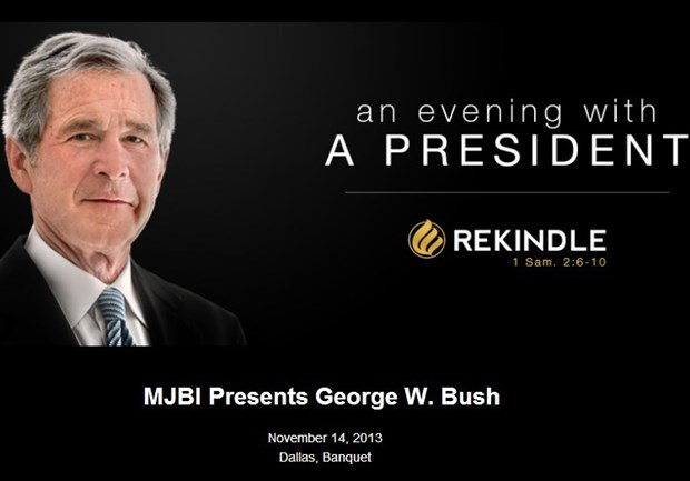 George W. Bush Helps Messianic Jews Make Money