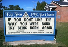 Church Signs of the Week—November 22, 2013