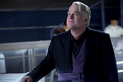 Phillip Seymour Hoffman in The Hunger Games: Catching Fire
