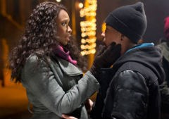 Jennifer Hudson and Jacob Latimore in 'Black Nativity'