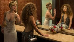 Jennifer Lawrence and Amy Adams in 'American Hustle'