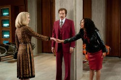 Christina Applegate, Will Ferrell, and Meagan Good in 'Anchorman 2: The Legend Continues'